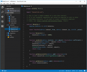 Visual Studio Code y Ethereum